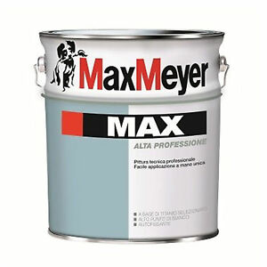 Pittura-Murale-Lavabile-Max-Meyer-14Lt-034-Max-034-Interno-Bianco-Professionale