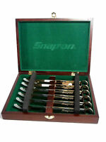 Snap-on Box Wrench 6 Piece Steak Knife Set In Collectors Box Gold-color Ssx2815