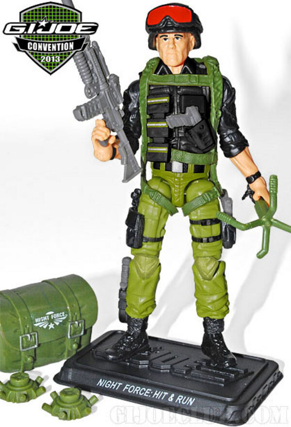 2013 G.I. JOE Convention JoeCon Night Force Nocturnal Fire 4