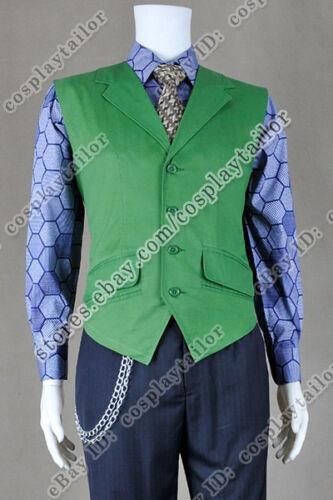 Batman Cosplay The Dark Knight Joker Costume Exquisite In Details Uniform Outfit