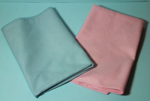 Mikrofaser Reinigungstuch 40 x 40 cm blau oder rose Universaltuch Mikrofasertuch