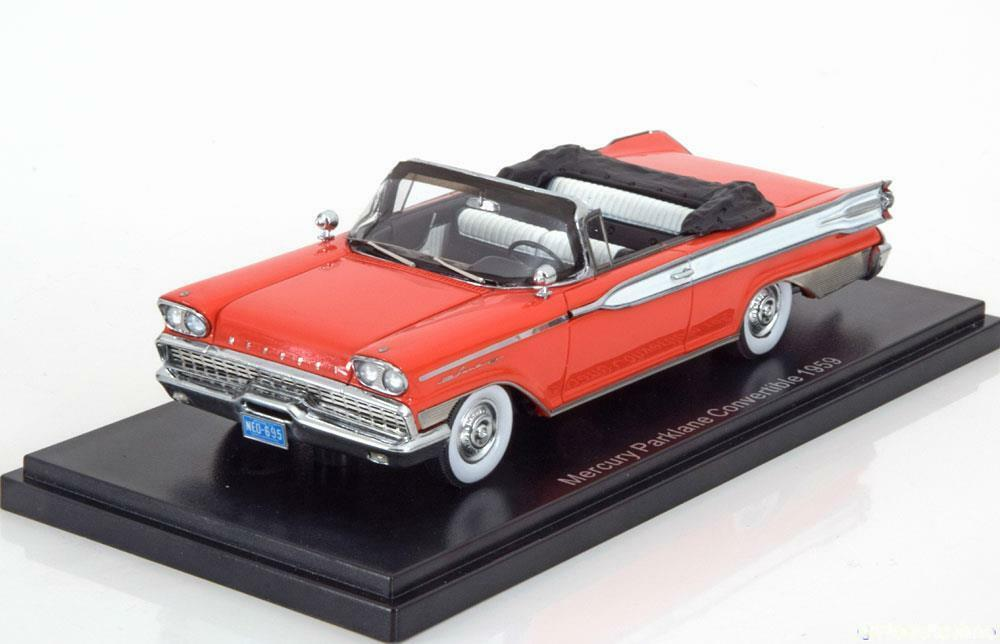 MERCURY PARKLANE CONgreenIBLE 1959 RED WHITE NEO 46095 1 43 red red red white