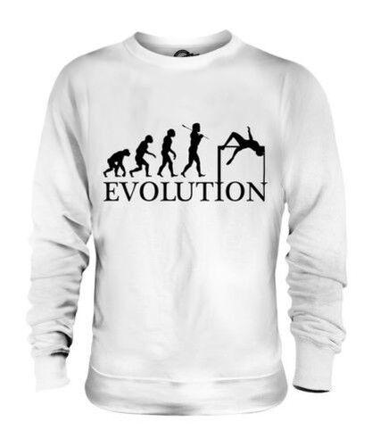 HIGH JUMP EVOLUTION OF MAN UNISEX SWEATER  Herren Damenschuhe LADIES GIFT ATHLETICS