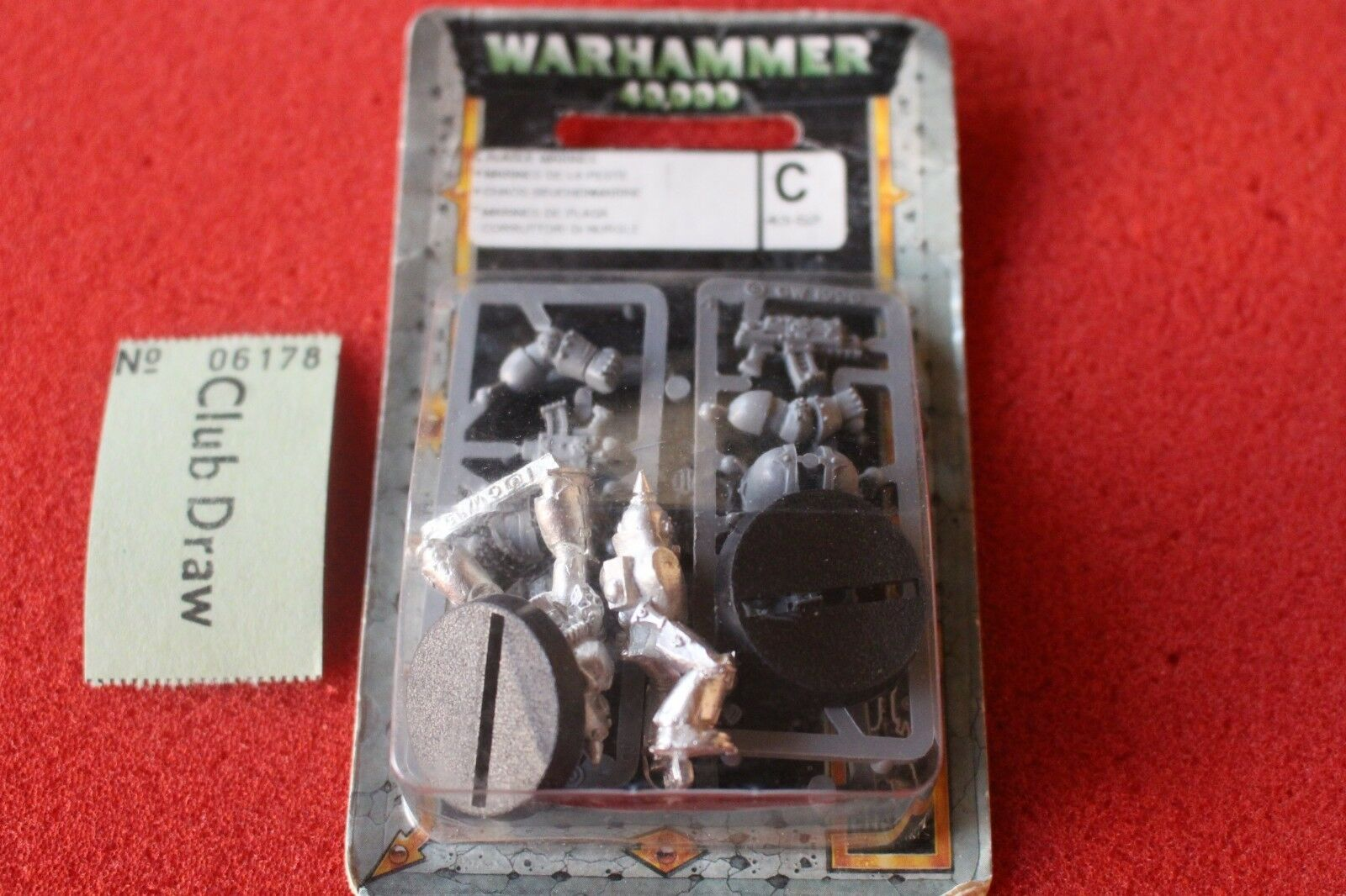 Games Workshop Warhammer 40k Chaos Space Marines Plague Marines x2 BNIB New OOP