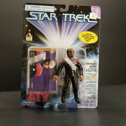 Worf Lt Comm Strategic Ops Officer Deep Space Nine Uniform 96 DS9 Choose Access