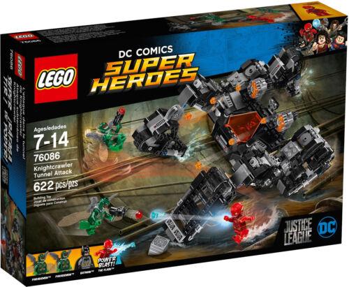 Neu OVP 76086 Knightcrawlers Tunnel-Attacke mit Flash LEGO DC Super Heroes