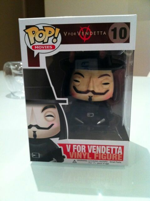 V for Vendetta Vinyl Action Figure POP 10# Funko Pop