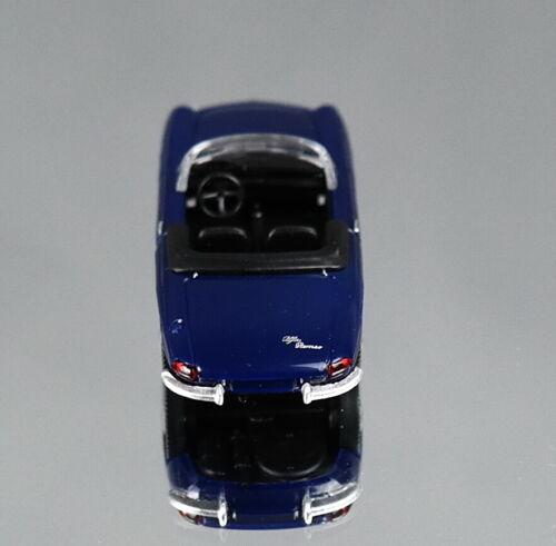 Wiking 020603 Alfa Spider-azul oscuro 1:87 novedad 06//2020