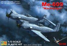 RS Models 1/72 Messerschmitt Me-609 Nachtjager # 92198