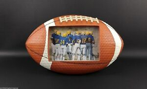 Large-FOOTBALL-SHAPE-Picture-Frame-Photo-Sports