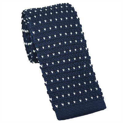 Men's Necktie Fashion Tie Colourful Knit Knitted Tie Narrow Slim Skinny Woven T