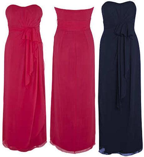 bdc2d635dee98 Exquisite Coast Pink Silk Maxi Evening Bridesmaid Dinner Prom Dress UK Size  12 for sale online | eBay