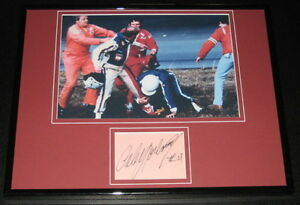 Cale-Yarborough-FIGHT-Signed-Framed-11x14-Photo-Display