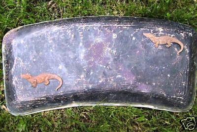 "1//8th/"" plastic concrete  plaster 39/"" alligator mold gator garden mould"