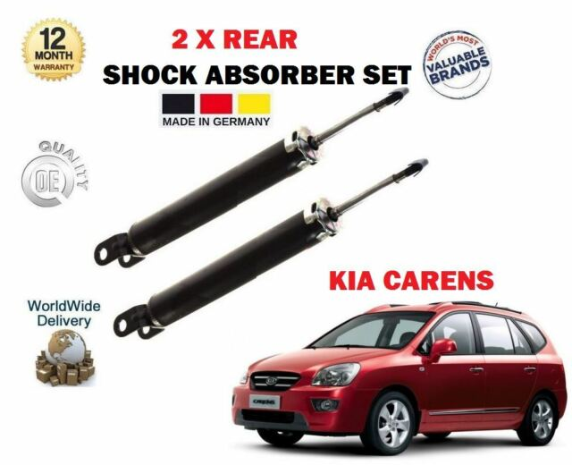 FOR TOYOTA AURIS 2006-2012 2 X FRONT LEFT RIGHT SHOCK ABSORBER SHOCKER SET