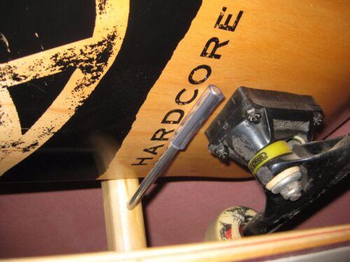 SKATEBOARD  FLOOR RACK storage decks completes longboard vintage display holder