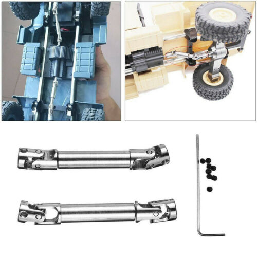 Upgrade Driving Shaft RC Military Truck Parts For WPL 1//16 1//24 Crawler Car