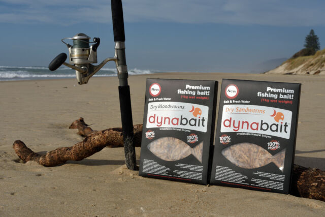 Dynabait Blood worms + Sand worms  2x 1Kg   approx.60 small satchels!