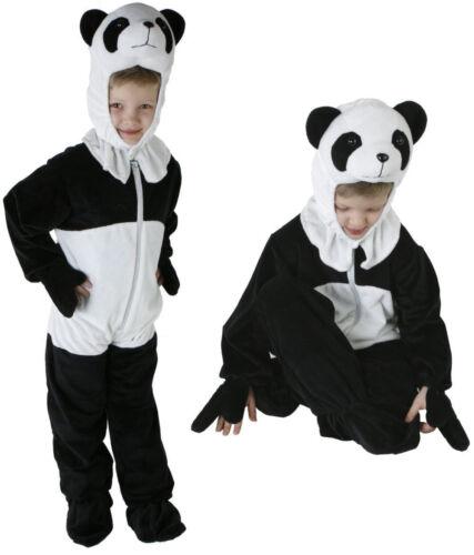 98-128 Panda Kinder Kostüm Jungen Mädchen Kinderkostüm Karneval Tiere m2984 Gr