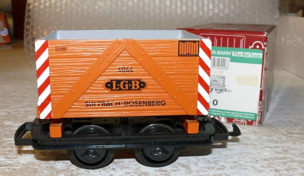 T3 LGB 40440 Hochbordwagen mit 3 3 3 Fässern  Spur G 90f9af