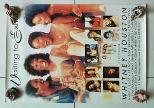 Whitney-Houston-Waiting-for-Exhale-Original-poster-for-Sale