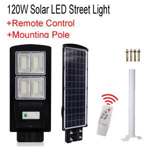 120w Led Solar Ed Street Lights