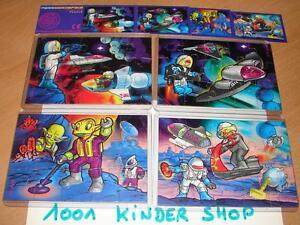KINDER PUZZLE FERRAEROSPACE 1996 SET + BPZ (D) JGxTSKNU-08051415-104461081