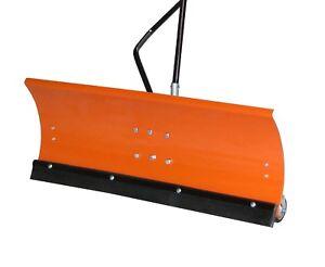 Schneeschild-Raeumschild-fuer-Rasentraktor-120-x-40-cm-Modell-Premium
