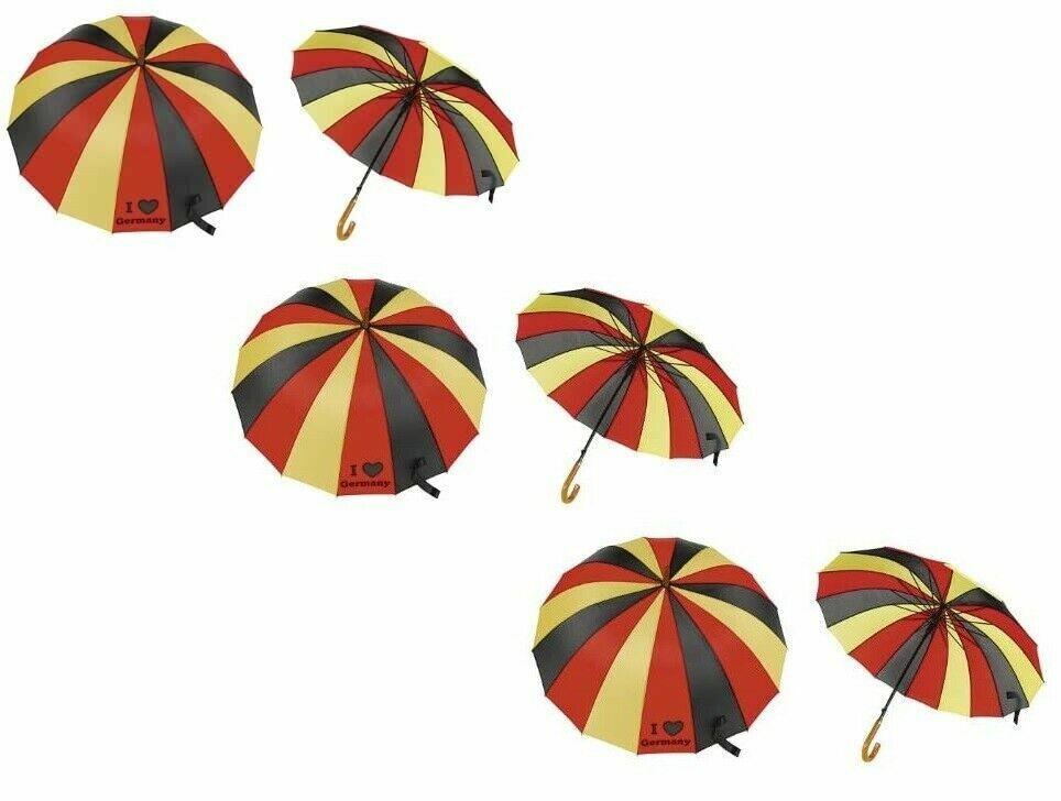 XL 85 cm Umbrella Germany/Germany, Stock Umbrella, Umbrella with Wooden Handle