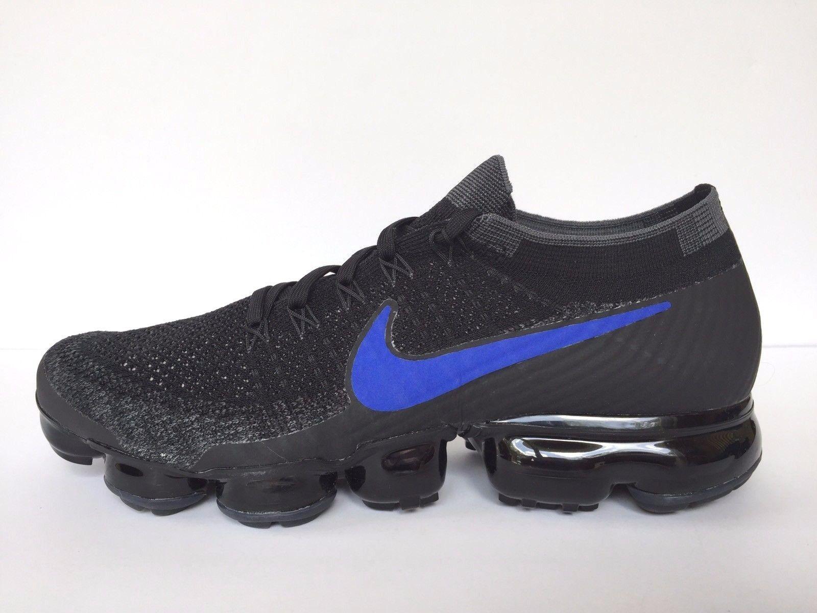 Nike triple Air vapormax Flyknit id triple Nike negro / Azul 941834-991 hombres SZ 10 Wild Casual Shoes 7ec22e