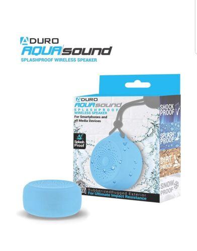 New Aduro Shower Speaker Bluetooth Pool Speakers Call Receiver Waterproof