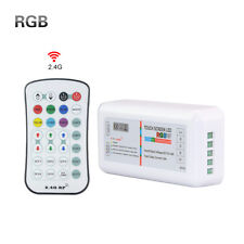 LED RGB Strip 2.4G Wireless Touch Screen Dimmable Remote RF Controller