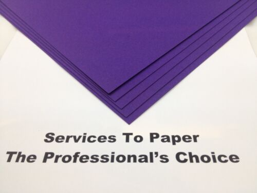 50 x A4 Cadbury Purple Pearlescent Shimmer Pearl Paper 120gsm **New Stock**