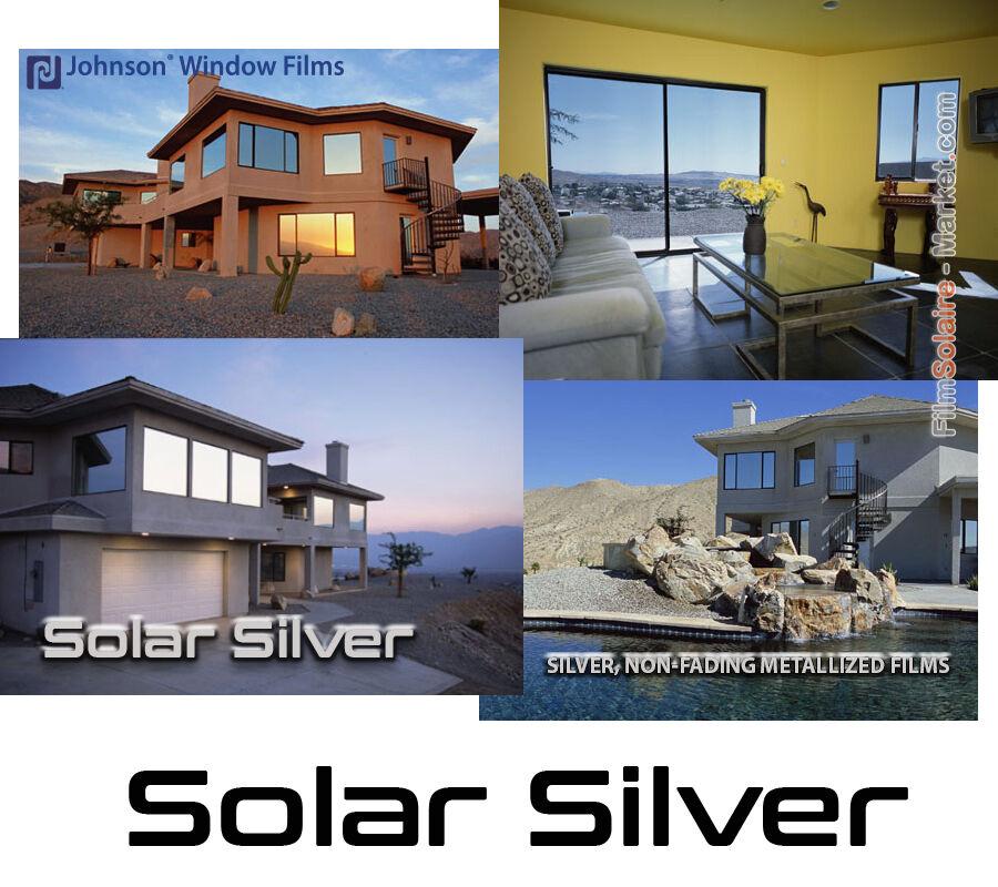 FILM SOLAIRE Vitrage bâtiment 5m x 61cm, résidentiel velux protection chaleur