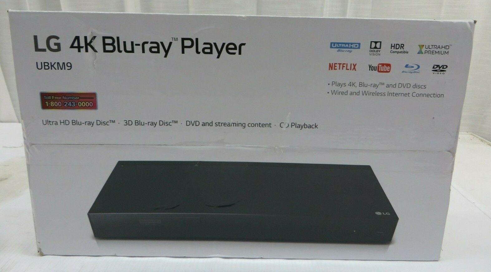 LG Ultra HD 4K 3D Blu-Ray Disc Player DVD & Streaming Content CD Playback content disc dvd playback player streaming ultra