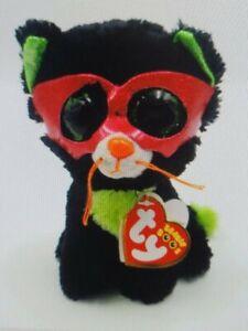 Ty Beanie Boos - Jinxy the Halloween Black Cat New (6 Inch) MWMT 15cm