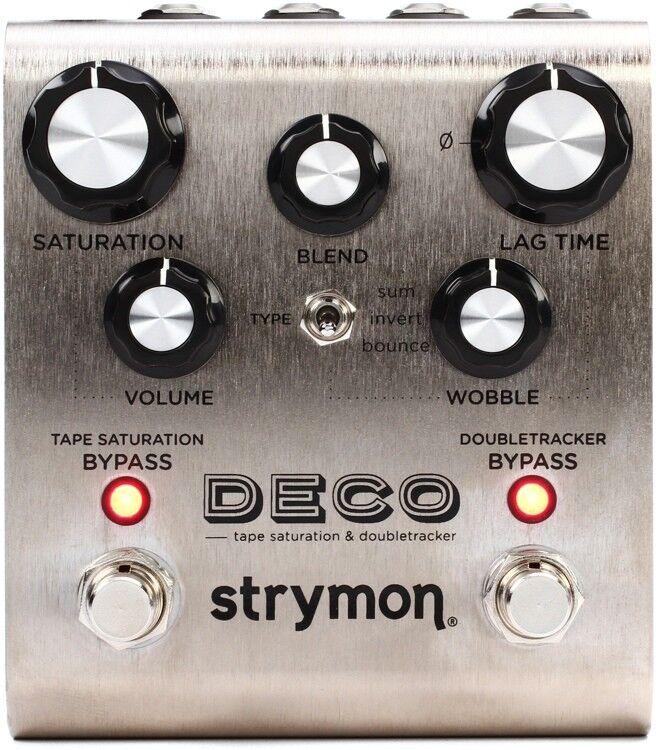 Strymon DECO Tape Saturation & Doubletracker NEW Guitar Effect Pedal