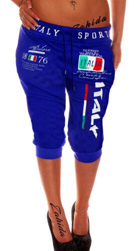 Donna Bermuda Short Capri Pantaloni corti Italia Italy 3//4 estate NUOVO ra.4.2 b.3483