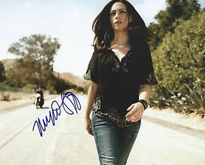 Maggie-Siff-Original-Signed-8x10-Autograph-Photo-Sons-of-Anarchy-SOA