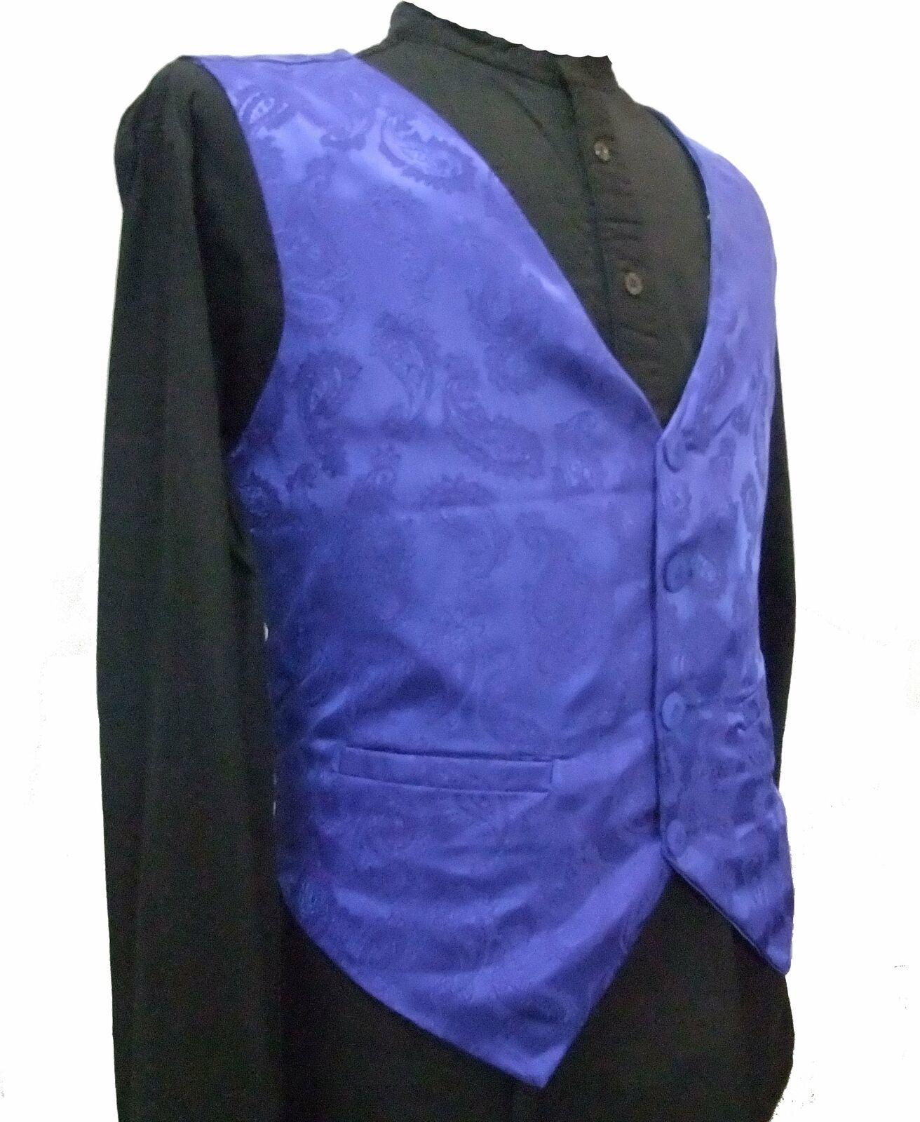 Walcha Paisley Steampunk Vest