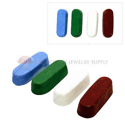 Jewelers Rouge Buffing & Polishing Bars 4 Piece Set Jewelry Repair Smoothing