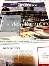 Le Figaro 26.01.2017 N°22539***FILLON GATE***MEIN KAMPF réédition*?**HAMON-VALLS