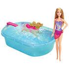 Barbie Swimmin' Pup Pool Doll 887961274332
