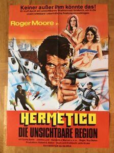 Hermetico-Die-unsichtbare-Region-Kinoplakat-039-77-Roger-Moore