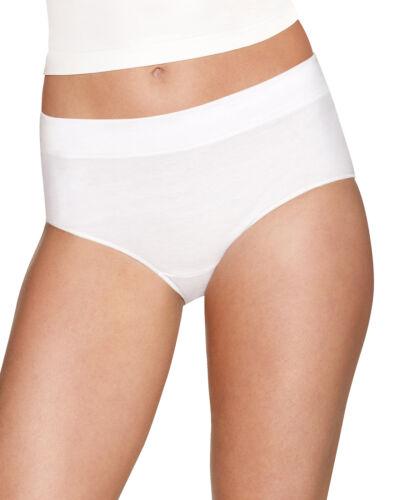 Hanes Brief Panties 4-Pack Womens X-Temp Constant Comfort Modern ComfortBlend