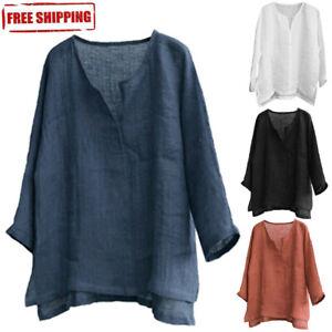 Men-s-Breathable-Comfy-Cotton-Linen-Long-Sleeve-Loose-Casual-T-Shirt-Tops-Blouse