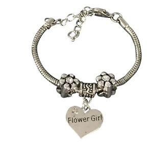 Flower Girl Wedding Bracelet Flower Girl Pandora Jewelry Wedding