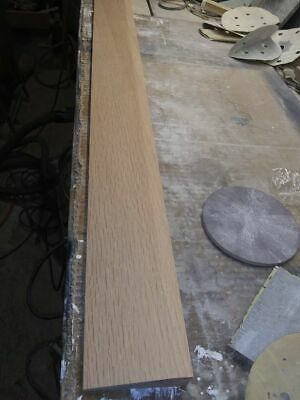 """3 FT 3 1//2/"""" Wide X 5//8/"""" High Pre-Finished Oak Half Threshold Butt up Thres"""