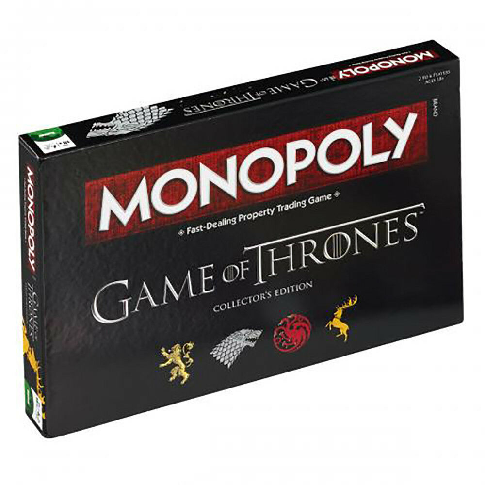Game of Thrones - Monopoly Board Game - GIFT