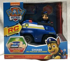 NEW Nickelodeon Paw Patrol Chase Remote Controlled Police Cruiser Toy